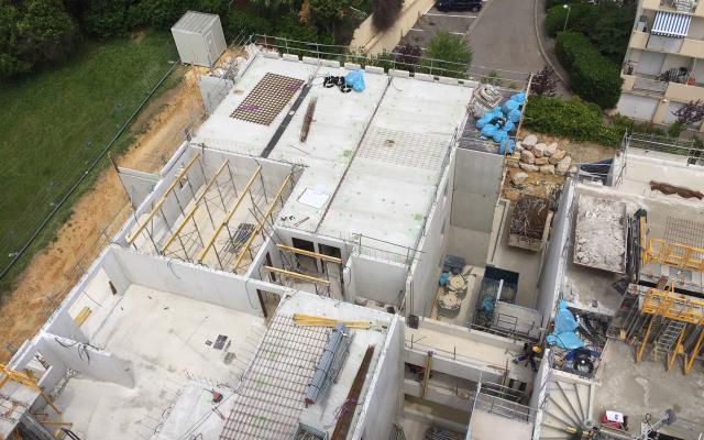 Construction de la Résidence Cityzen à Montpellier